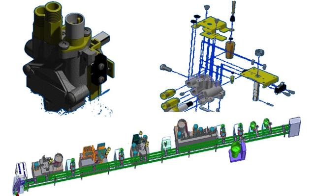 燃氣點火器自動組裝系統