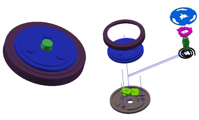 汽車座椅調角器核心件組裝檢測系統